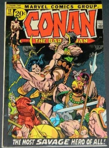 Conan the Barbarian #1212/71 Cover/story inks on Gil Kane