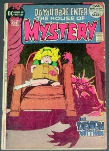 House of Mystery #2014/72 Title page
