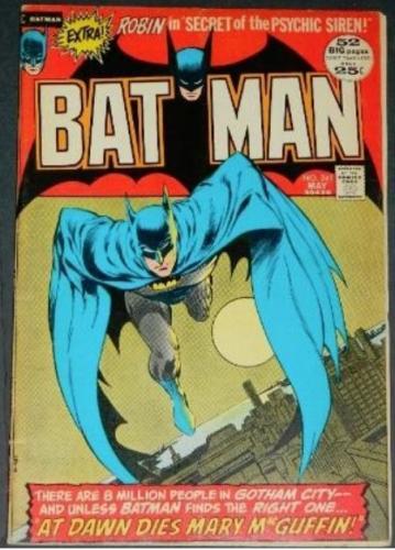 Batman #2415/72 inks on Neil Adams cover