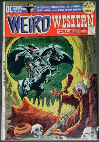 "Weird Western Tales #127/72 ""A Time To Die"" inks on Neil Adams"