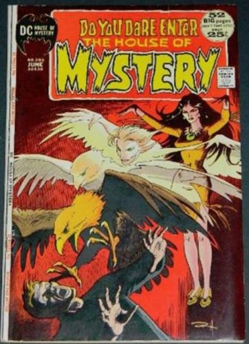 House of Mystery #2036/72 Title page