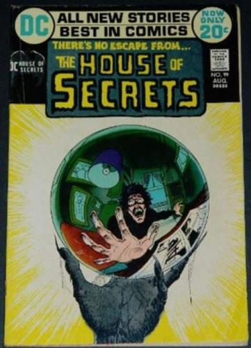 House of Secrets #998/72 Title page