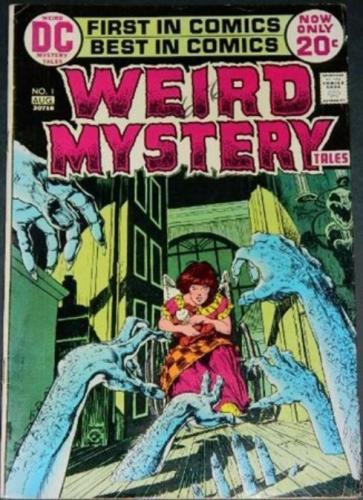 Weird Mystery Tales #18/72 Figure in Kirby story
