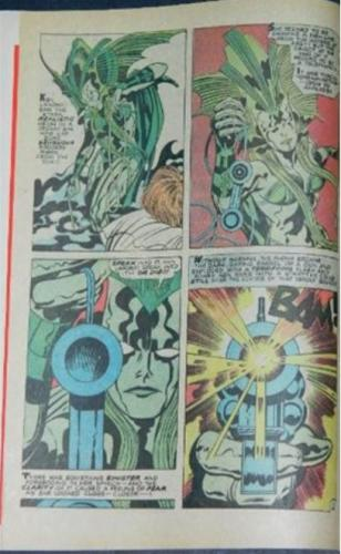 Weird Mystery Tales #1Destiny pencils in Kirby story