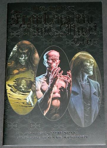 Frankenstein Alive,Alive TrioCover, art