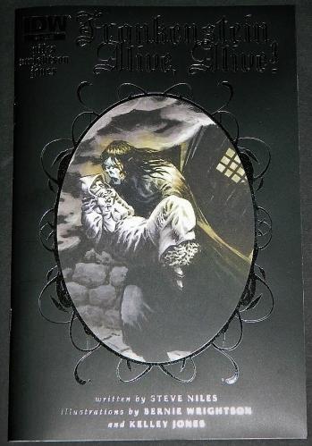 Frankenstein Alive,Alive #43/2018 cover, 5pgs. art