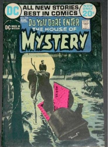 House of Mystery #2058/72 Title page
