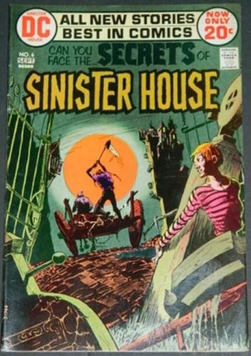 Secrets of Sinister House #69/72 Lower 1/3 cover