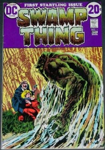 Swamp Thing #110/72 Cover, story artSigned by Wrightson/Wein