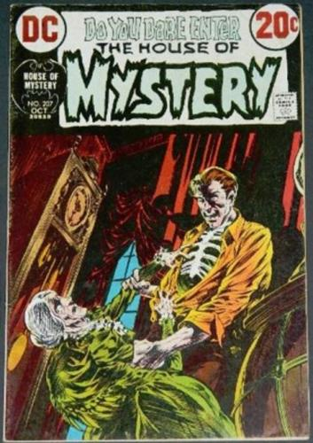 House of Mystery #20710/72 Cover, title page