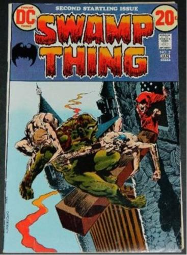 Swamp Thing #210/72 Cover, story art