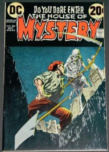 House of Mystery #20912/72 Cover, title page