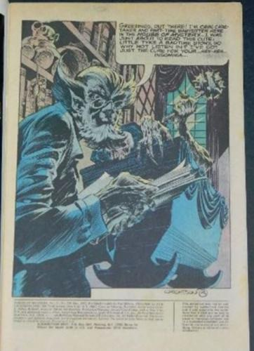House of Mystery #209Title page