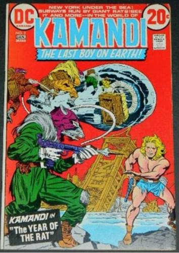 Kamandi #21/73 Shadow ad