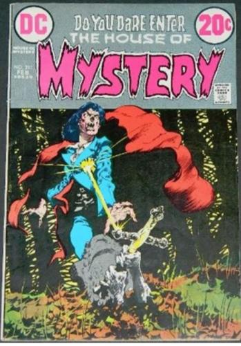 House of Mystery #2112/73 Cover, title page