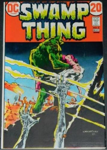 Swamp Thing #33/73 Cover, story art
