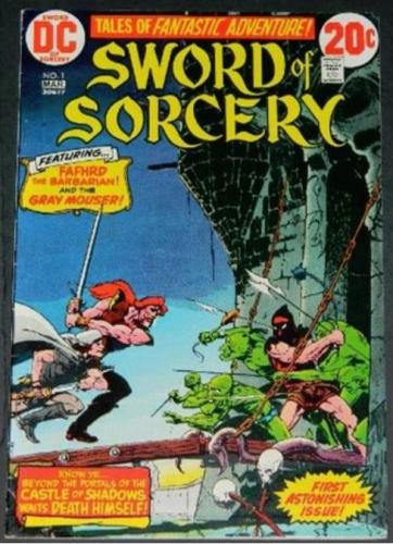 Sword of Sorcery #13/73 Partial inks on story art