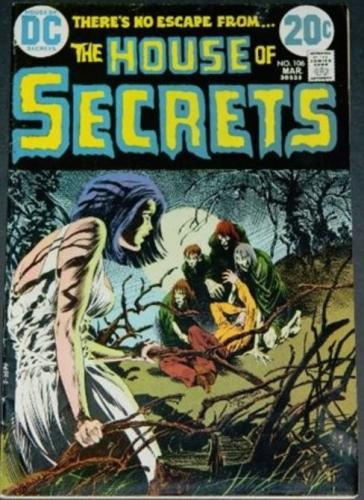 House of Secrets #1063/73 Cover, title page