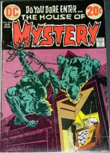 House of Mystery #2134/73 Cover
