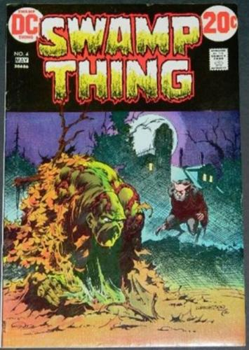 Swamp Thing #45/73 Cover, story art