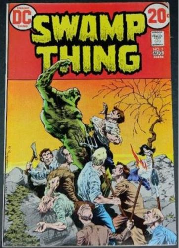 Swamp Thing #58/73 Cover, story art