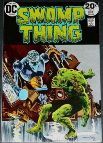 Swamp Thing #610/73 Cover, story art