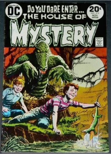 House of Mystery #21911/73 Title page