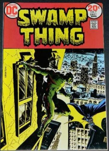 Swamp Thing #712/73 Cover, story art