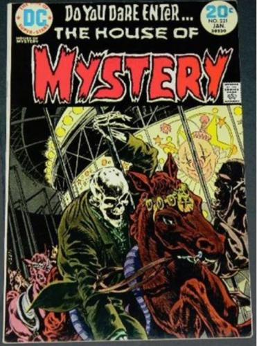"House of Mystery #2211/74 Cover, ""He Who Laughs Last"""