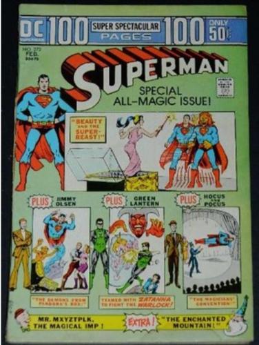 "Superman #2722/74 ""Play the Graffiti Game"""