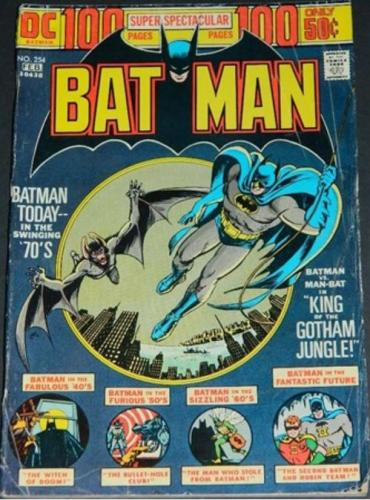 Batman #2542/74 - '72 Shazam awards
