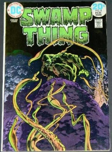 Swamp Thing #82/74 Cover, story art