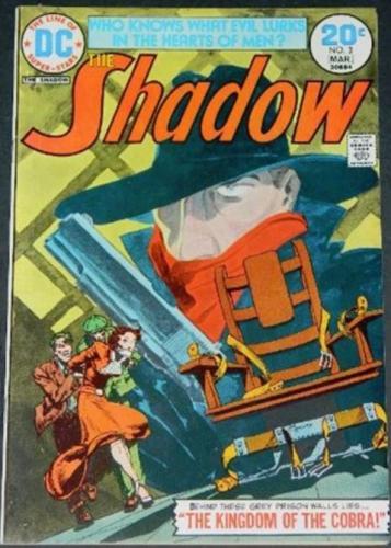 "The Shadow #33/74 ""Kingdom of the Cobra"" inks"
