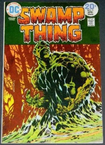 Swamp Thing #94/74 Cover, story art