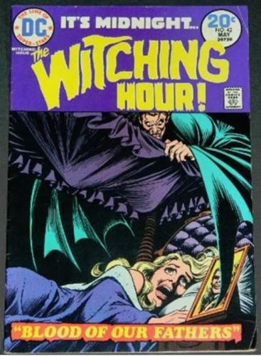 Witching Hour #423/74 art on letters page