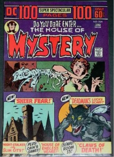 "House of Mystery #2245/74 ""Abraca-Doom"" from Spectre #9"