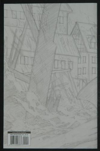 Frankenstein Alive,Alive #4 - sketch back cover