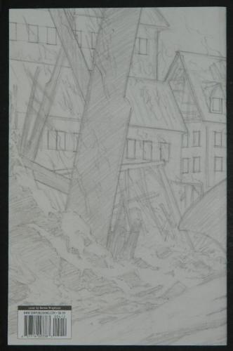 Frankenstein Alive,Alive #4 - sketch back cover