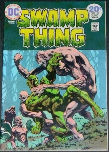 Swamp Thing #106/74 Cover, story art