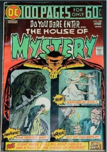 "House of Mystery #2269/74 ""Scared To Life"" H.O.M. #180"