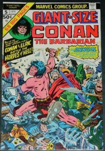 Giant-Size Conan #51975 - reprints Conan #12