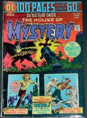 "House of Mystery #2281/75 ""The Man Who Murdered Himself"" HOM #179"