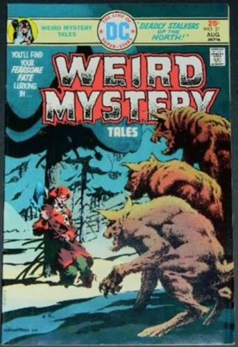 Weird Mystery Tales #218/75 Cover