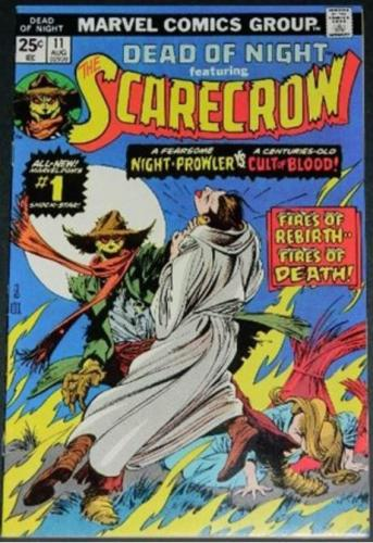 Dead of Night featuring the Scarecrow #118/75 Cover w/ Gil Kane