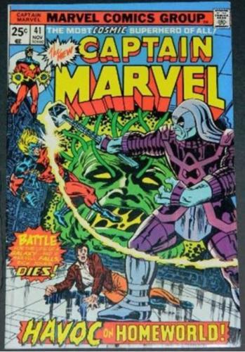 Captain Marvel #4111/75 Story inks on Milgrom