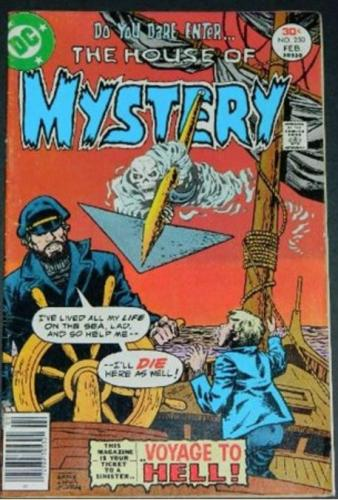 House of Mystery #2502/77 Ad from HOM 209