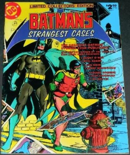 Batman's Strangest Cases C591978 - Swamp Thing #7