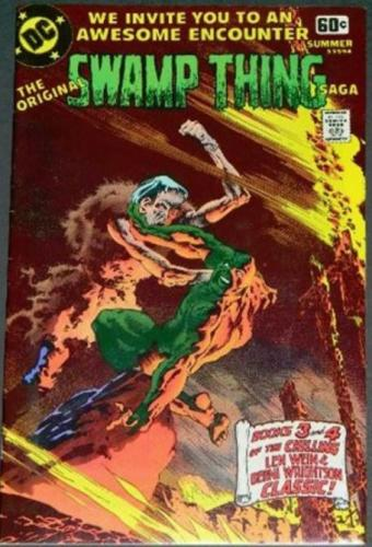 Swamp Thing Saga Summer 1978, Wrap around cover, reprints #3&4