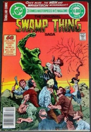 Swamp Thing Saga9/79 Cover, reprints 5-7