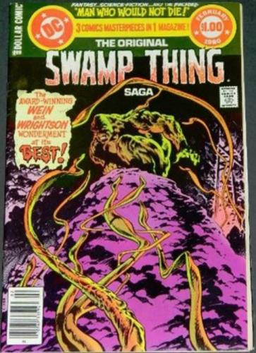 Swamp Thing Saga2/80 Cover, 8-10